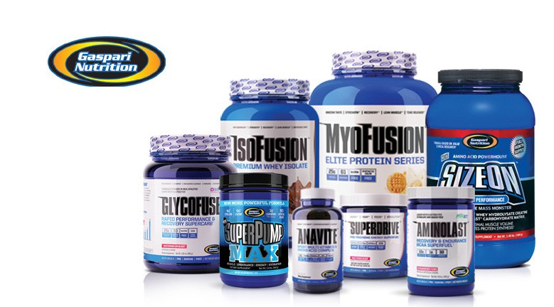 Gaspari nutrition products